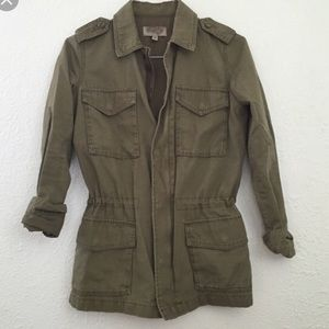 Urban Outfitters Green Military Jacket